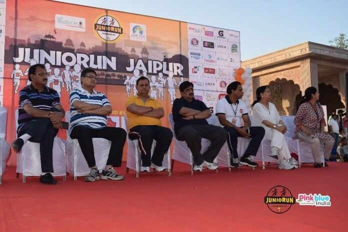 Jaipur Children Ran in Juniorun Marathon With Great Enthusiasm