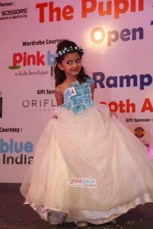 Kids Ramp Walk In Contemporary Collection For Brand Pinkblueindia