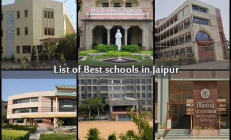 List of Best schools in Jaipur