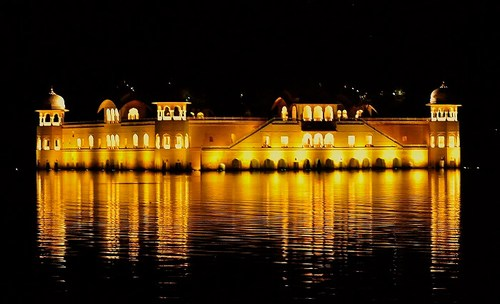 Jal Mahal jaipur at night