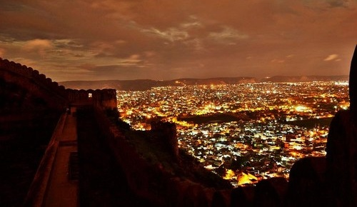 Nahargarh Fort night jiapur