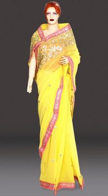 Jaipuri Gota Work Sarees , rajasthani gota patti saree