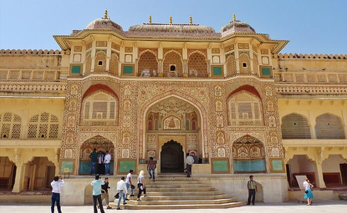 Amer Fort in Jaipur, Rajasthan, India