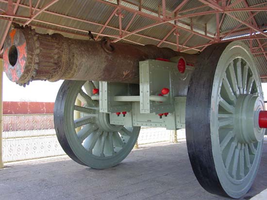 Cannon of Jaigarh Fort Jaipur