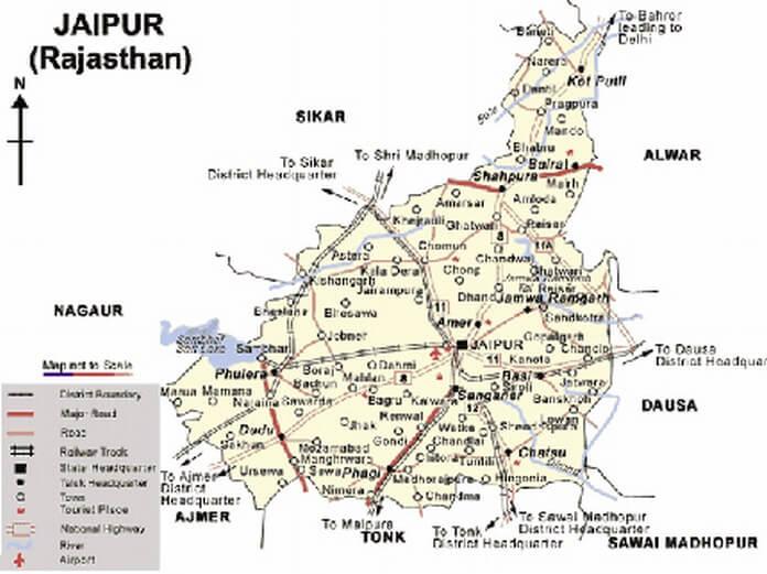 Jaipur Location