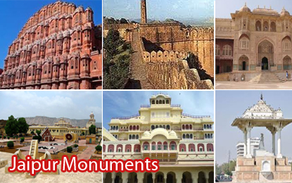 Famous Monuments & Forts in Jaipur