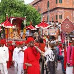 Celebration of Teej Festival jaipur, Rajasthan