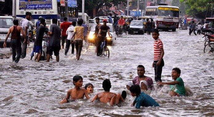 Monsoon rain jaipur