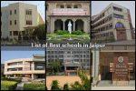 List of Best schools in Jaipur