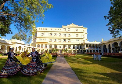 The Raj Palace wedding hall jaipur