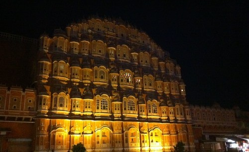 Best place Hawa Mahal Night Jaipur
