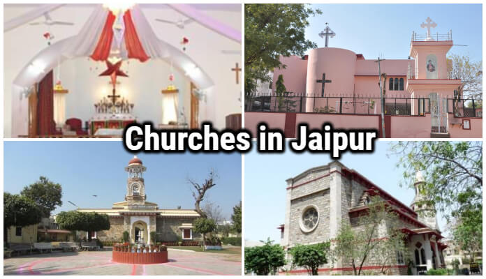 Best Churches in Jaipur, List of Churches in Jaipur, famous Jaipur Church