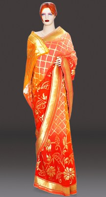 Georgette Wedding Sarees Collection Jaipur