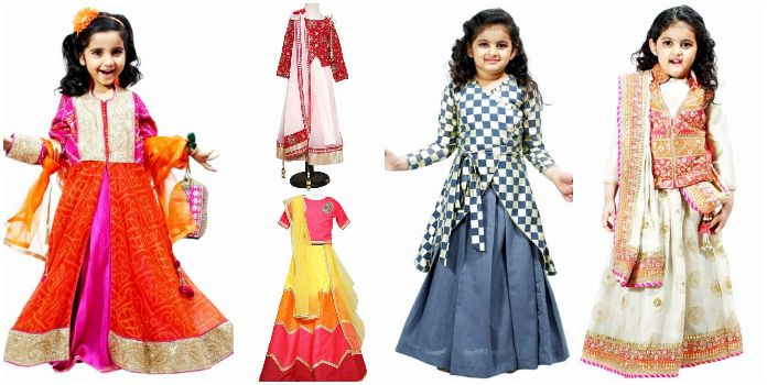 Where to Find  Baby Girl Lehengas For Wedding in Jaipur - Childrens Lengha in Jaipur