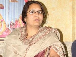 Congress mayor of jaipur jyoti khandelwal