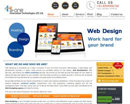 A One Innovation, Digital Marketing Company Jaipur