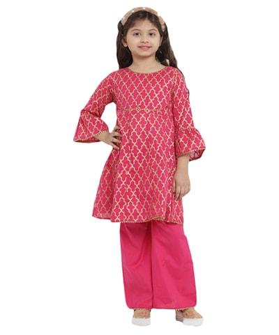Bulk Kids Kurti, Wholesale Designer Little girls Kurti Jaipur