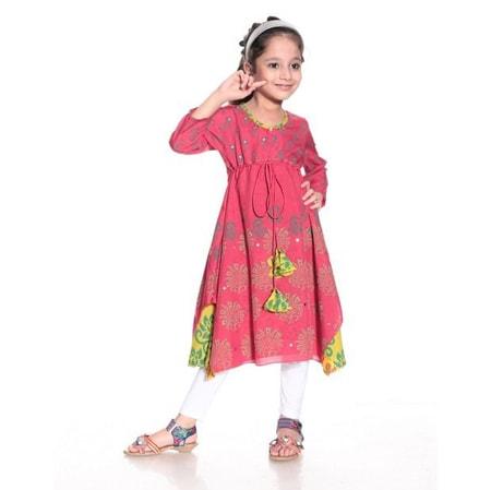 Chindren Kurti Manufacturer Jaipur, Designer Kurti for Girls