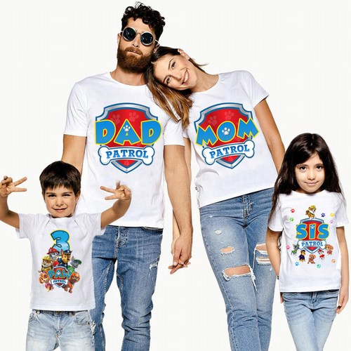 Matching Family T-shirts Jaipur, personalised family t-shirts