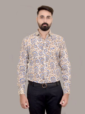 Bagru Hand Block Printed Shirt Jaipur